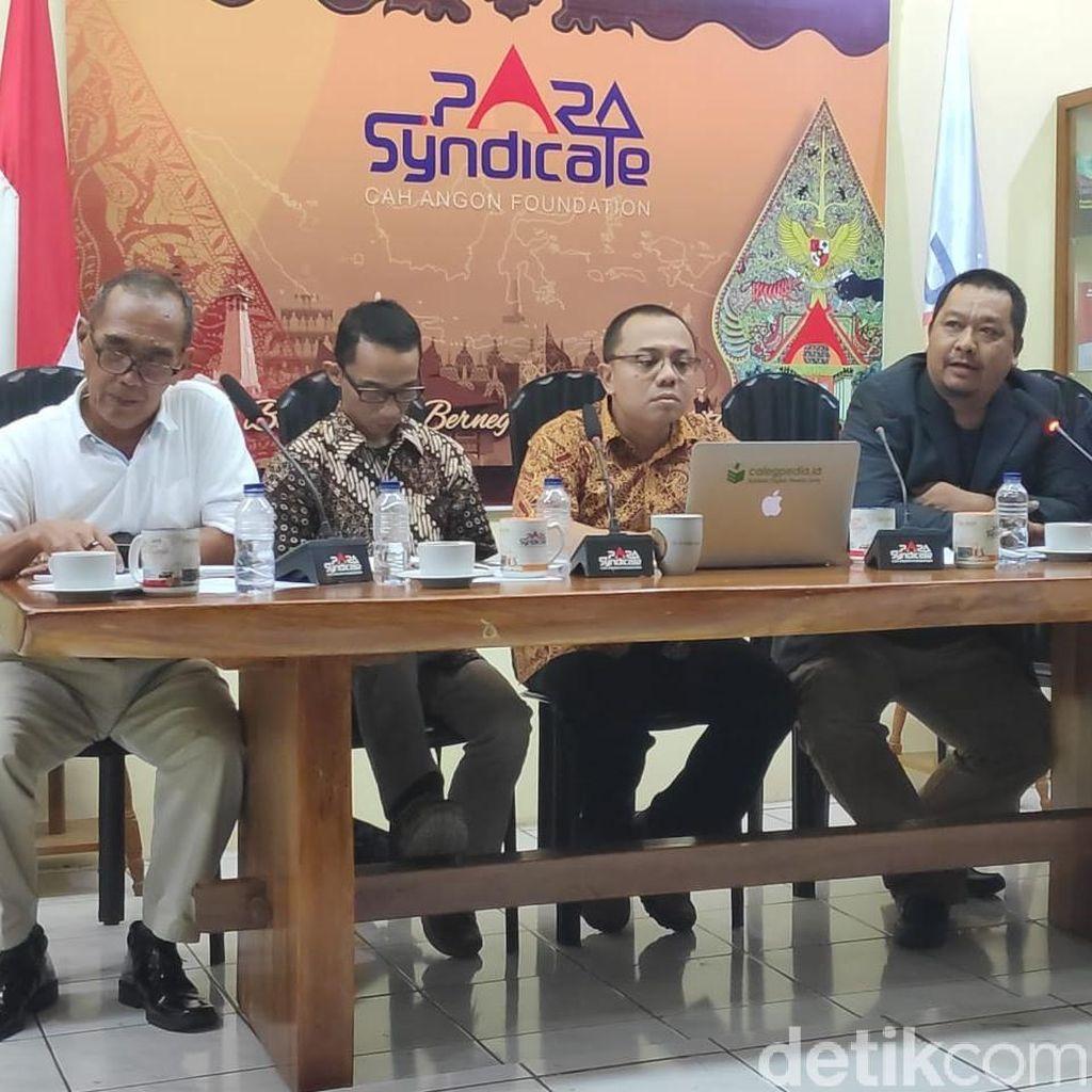 Nilai Debat Kedua Versi Para Syndicate: Jokowi 8, Prabowo 6