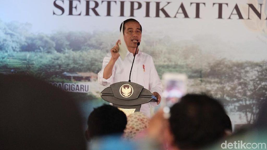 Pulpen Jokowi yang Dituding Jadi Alat Contekan Sempat Tertinggal