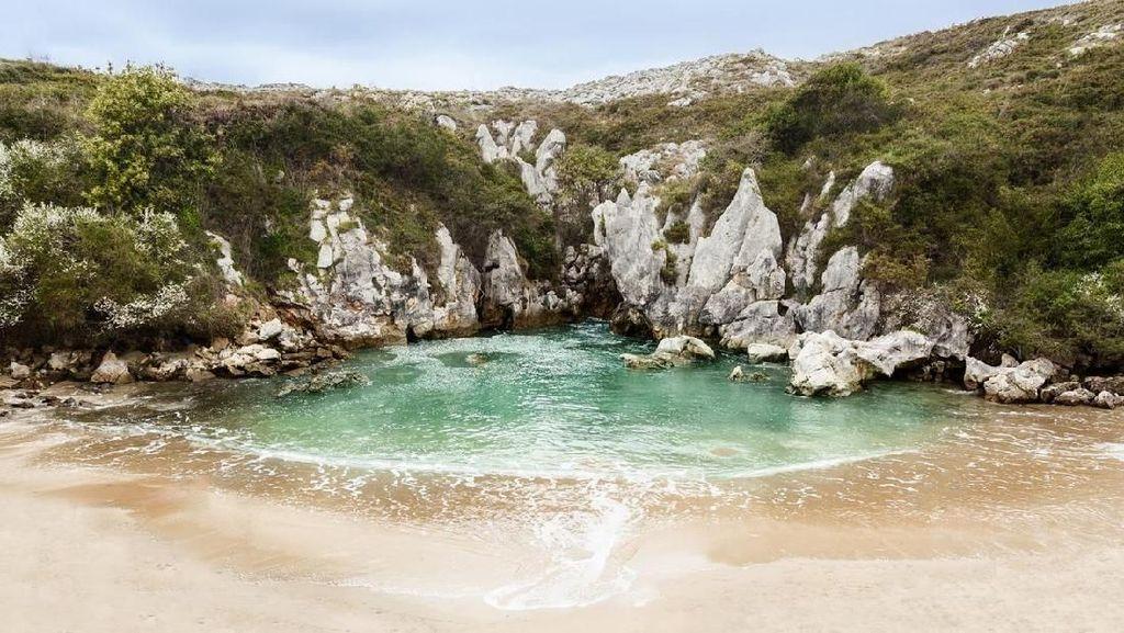 Foto: Fenomena Pantai Tanpa Laut