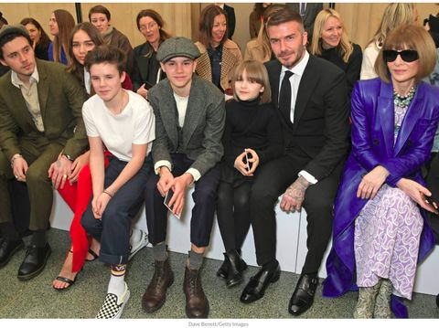 Perdana, Brooklyn Beckham Ajak Pacar ke Fashion Show Victoria