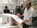 58 Kotak Suara Rusak, KPU Surakarta Segera Lapor ke Pusat