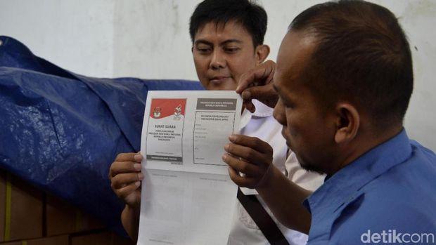 KPU Pekalongan Masih Kekurangan 1.461 Surat Suara Pilpres