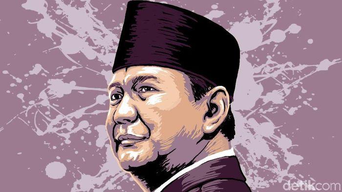 Menhan Prabowo Subianto (Foto: Edi Wahyono/detikcom)