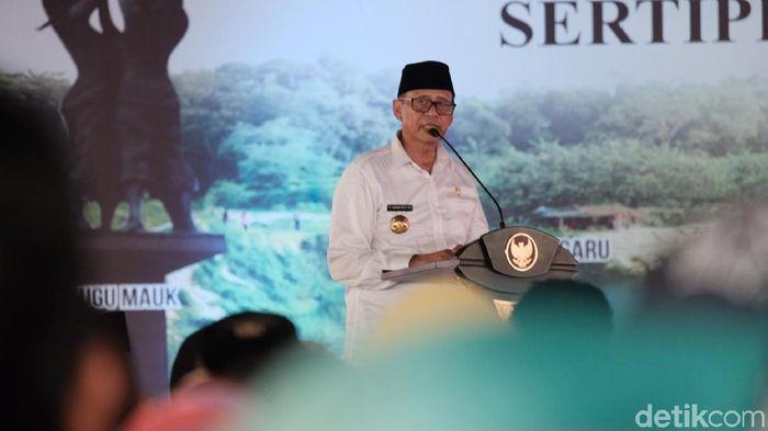 Foto: Gubernur Provinsi Banten Wahidin Halim. (Andhika-detikcom)