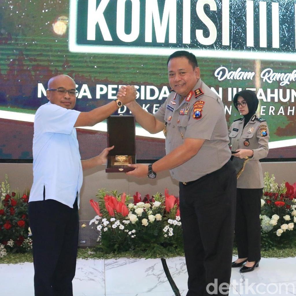 DPR RI Soroti 7.000 Kasus Belum Rampung di Polda Jatim
