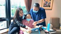 Masih Dirawat di Singapura, Ani Yudhoyono Dihibur Video Call Cucu