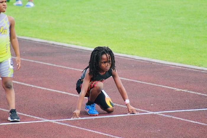 Bocah berusia 7 tahun dengan julukan Blaze ini membuat orang terkejut ketika berhasil menyelesaikan lari 100 meter dengan waktu 13,48 detik. (Foto: Instagram/blaze_813, ditampilkan atas izin yang bersangkutan)