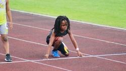 Rudolph Ingram dari Florida menjalani latihan intens untuk menempa fisiknya. Ia bercita-cita jadi penerus Usain Bolt, manusia tercepat di dunia.