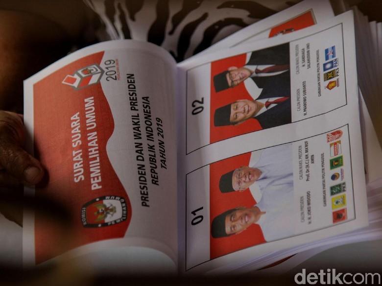 Situng KPU Provinsi Bengkulu 100%, Prabowo Menang Tipis atas Jokowi