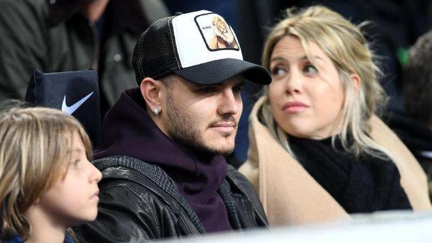 Mauro Icardi hanya menjadi penonton di laga Inter vs Sampdoria.