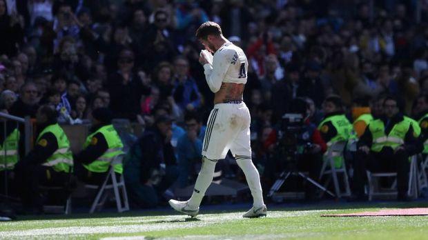 Sergio Ramos mengaku bertanggung jawab atas kegagalan Real Madrid lolos ke perempat final Liga Champions.