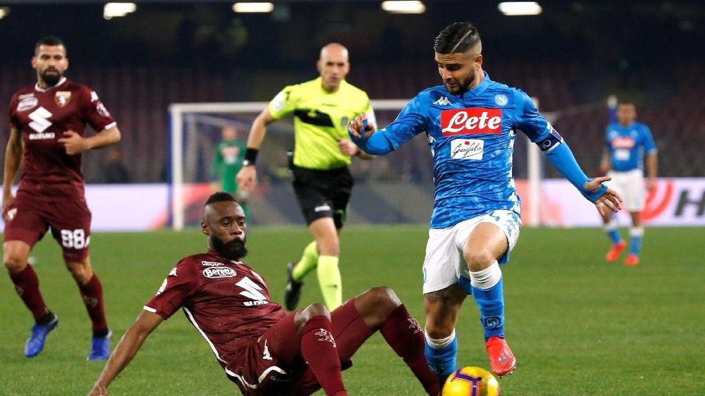 Hasil Liga Italia: Napoli Diredam Torino Tanpa Gol