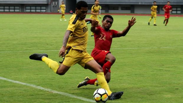 Bill Keraf tersingkir dari skuat Timnas Indonesia U-23.