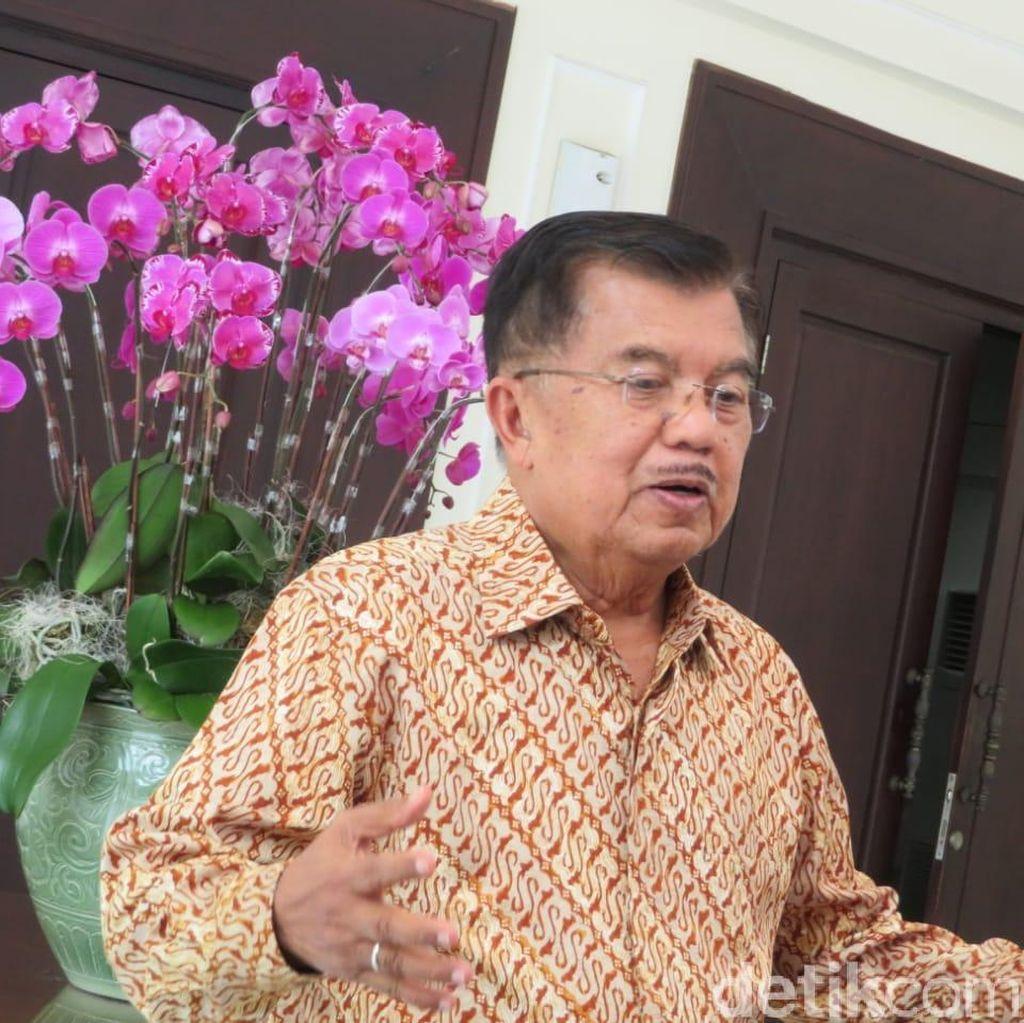 JK Bicara Kebiasaan Jokowi dan Dirinya Bergantian Jadi Imam Salat