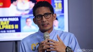 Terbang ke Singapura, Sandiaga akan Jenguk Ani Yudhoyono