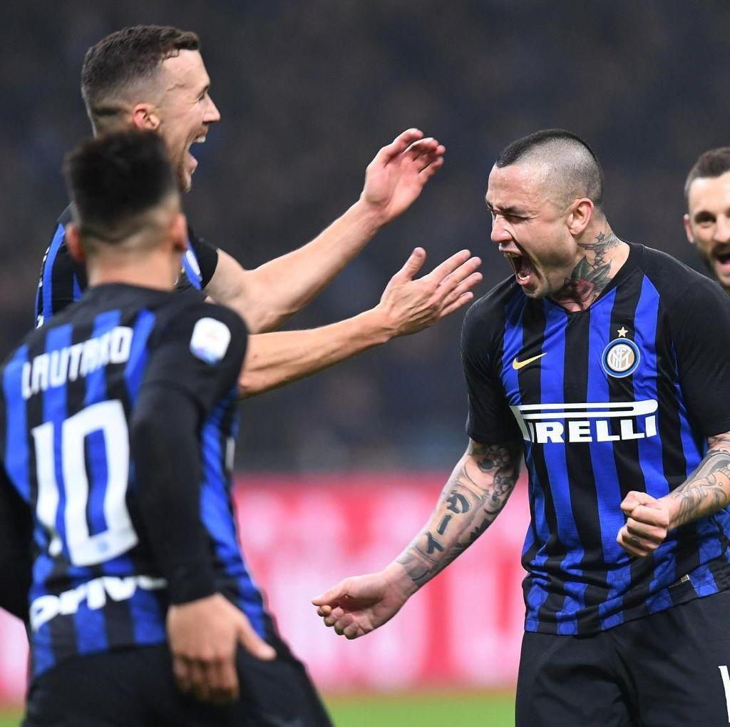 Hasil Inter vs Sampdoria: Gol Nainggolan Menangkan Nerazzurri