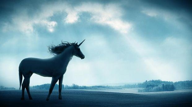 Unicorn merupakan hewan mitos bercula. (