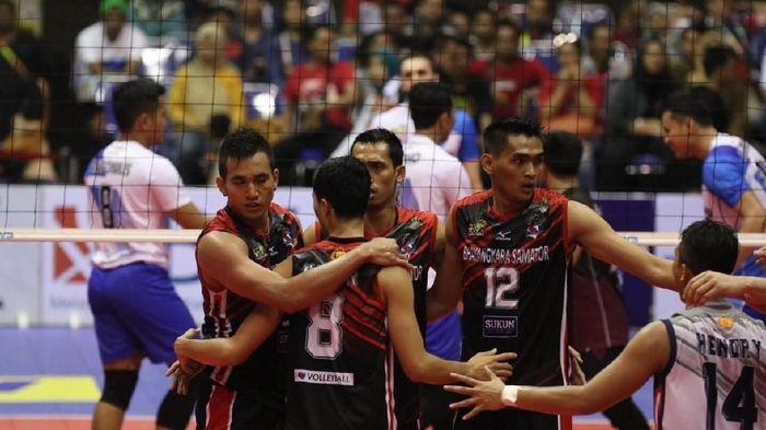 Surabaya Bhayangkara Samator lolos ke grand final Proliga 2019 (Foto: dok. Istimewa)