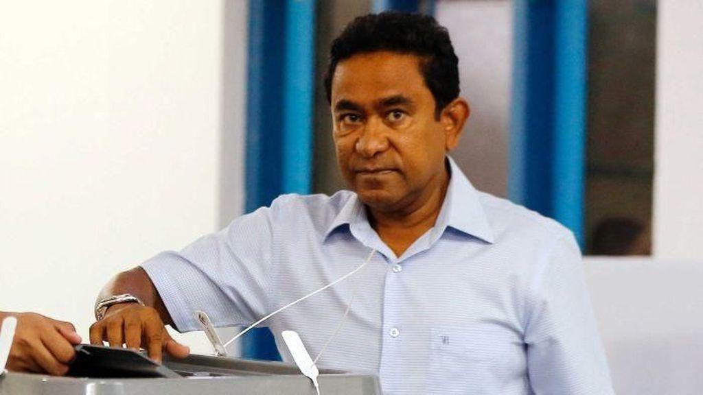 Mantan Presiden Maladewa Abdullah Yameen Ditahan karena Kasus Pencucian Uang