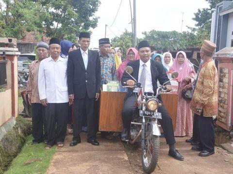 Inspiratif! Kisah Cinta Pasangan di Lampung yang Mas Kawinnya Es Cendol