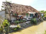 72 Rumah Rusak Diterjang Hujan Badai di Ciamis