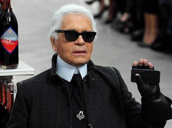 Desainer Chanel Karl Lagerfeld (Foto: Getty Images)