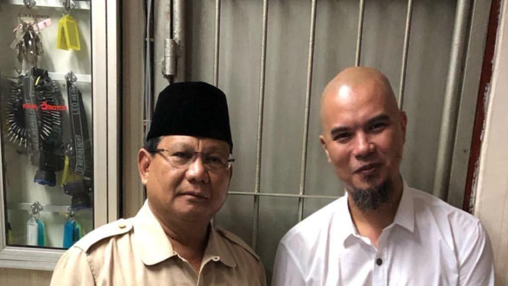 Dari London, El Perlihatkan Tawa Prabowo dan Ahmad Dhani di Rutan