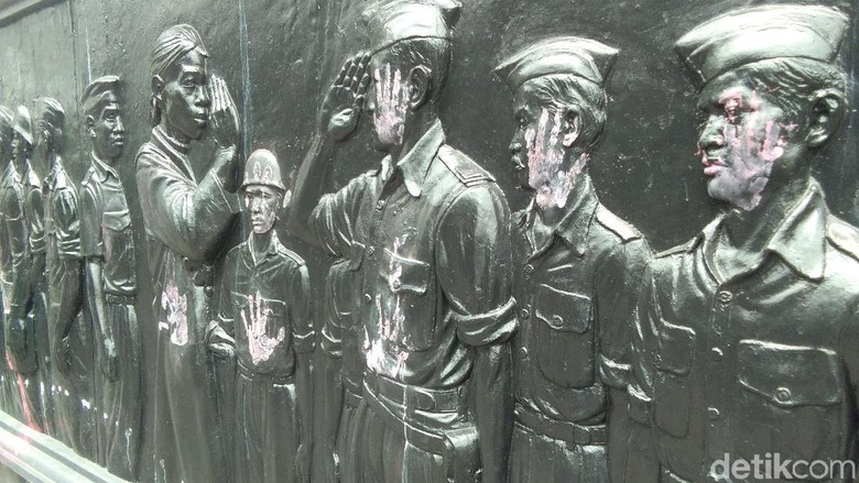Janji Polisi Usut Vandalisme di Monumen Serangan Umum 1 Maret Yogya