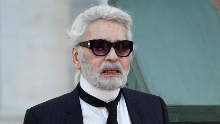 Desainer ternama Karl Lagerfeld dikabarkan mengidap kanker pankreas (Foto: Getty Images)