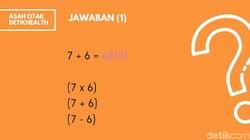 Keahlian seseorang bermain dengan angka biasanya dikaitkan dengan soal-soal matematika. Buktikan kalau otakmu encer dengan menyelesaikan 5 soal berikut.