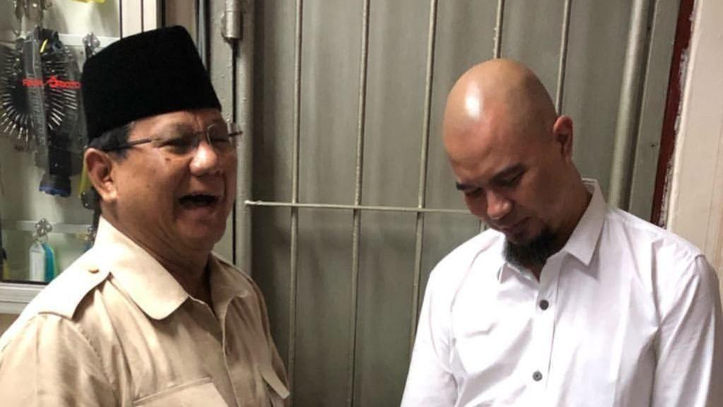 Prabowo Sebut Kasus Ahmad Dhani Bentuk Dendam Politik