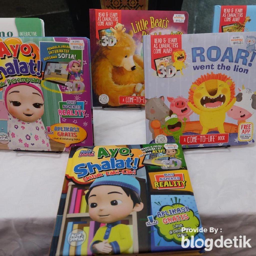 Cuma di Big Bad Wolf Jakarta 2019, Ada Buku Ajaib Little Hippo Lho!