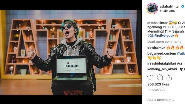 Wih, Atta Halilintar Masuk 10 Besar Youtuber Terkaya Dunia!