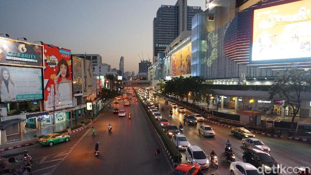 Foto: Inspirasi Jalan-jalan di Bangkok Sore Hari