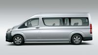 Mobil Travel Toyota Hiace Sekarang Nggak Pesek Lagi