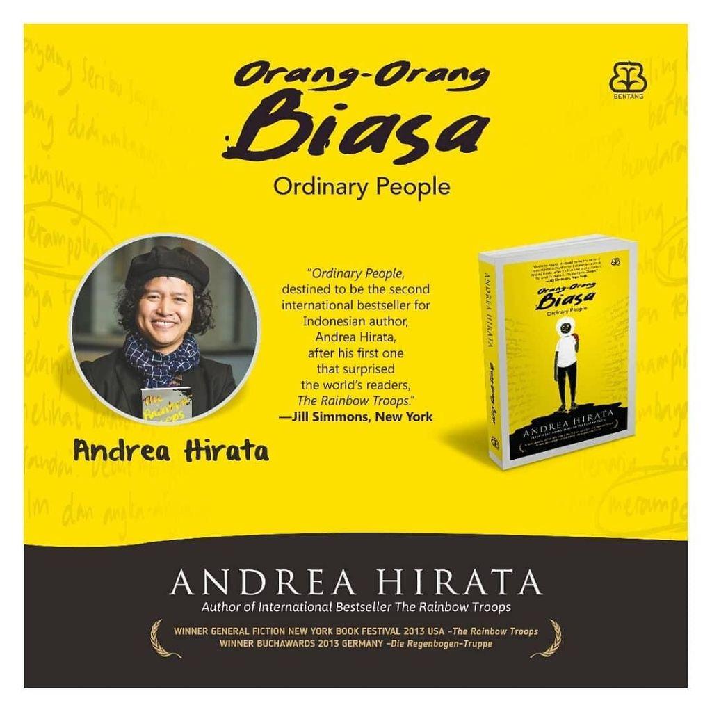 Karya ke-11 Andrea Hirata Segera Terbit, Siap Pre Order 28 Februari