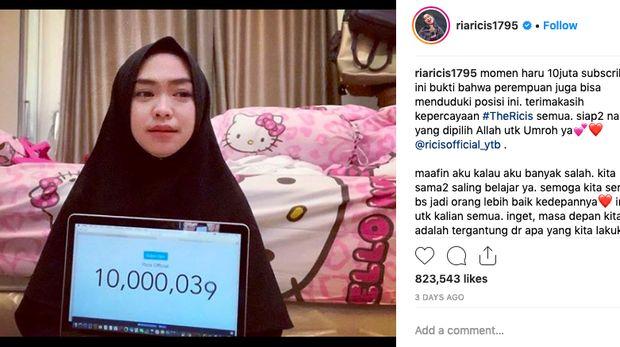 Punya 10 Juta Subscriber, Ini Sosok Ratu Youtuber Indonesia