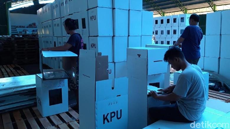 KPU Boyolali Ajukan Penggantian 75 Kotak Suara Pemilu yang Rusak