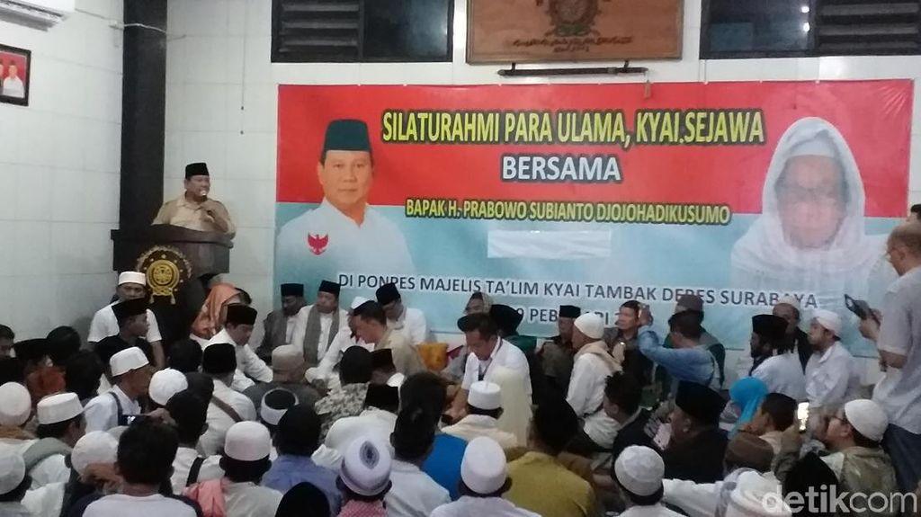 Prabowo: Indonesia Jangan Sampai Menjadi Kleptokrasi