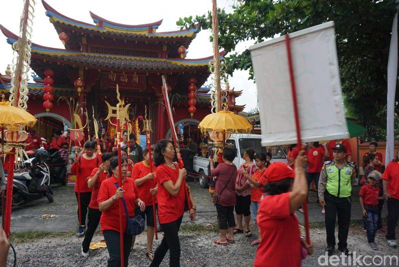 Kongco Cao Fuk Miao ini berada di Jl Cargo Kenanga, Denpasar Utara, Bali (Aditya/detikTravel)