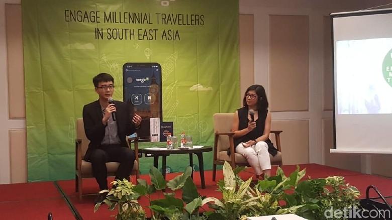 Suasana diskusi traveler milenial (Fitraya/detikTravel)
