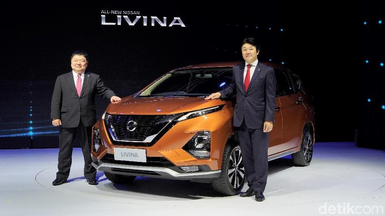 Livina Terbaru Foto: Nissan