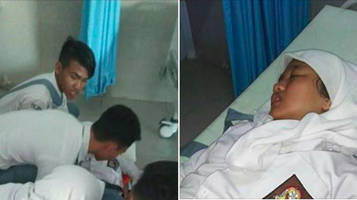 Unggahan foto anak Ibnu yang viral mengalami nyeri tulang ekor. (Foto: Facebook/Ibnu Yahya)
