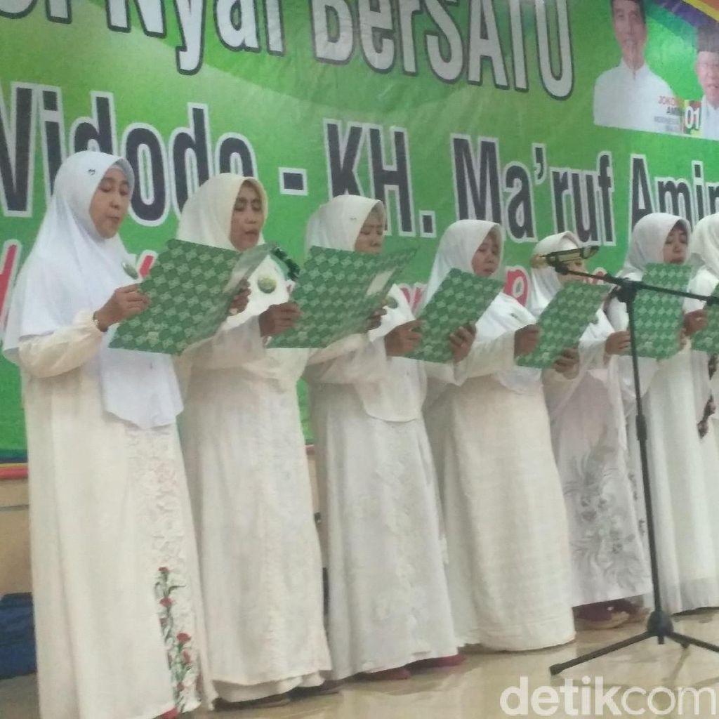 Nyai Bersatu di Situbondo Deklarasi Dukung Jokowi-Maruf