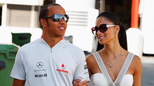 Momen Mesra Nicole Scherzinger dan Lewis Hamilton