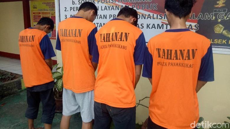 4 Pengeroyok Polisi di Makassar Ditangkap, 2 Menyerahkan Diri