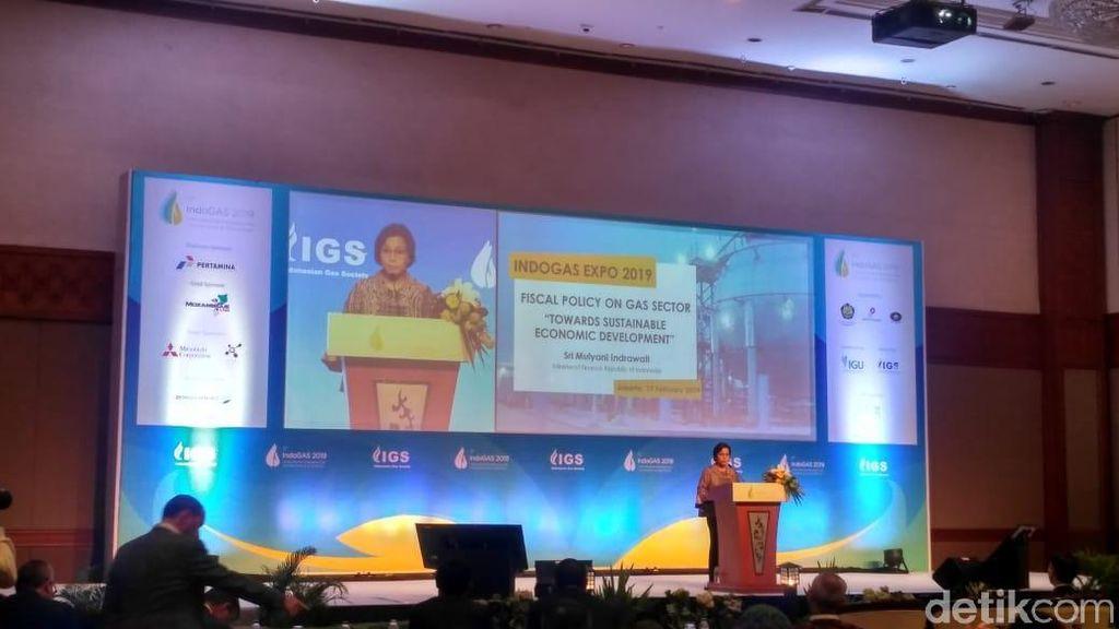 Sri Mulyani Pamer Kondisi Ekonomi RI di Depan Pengusaha Gas