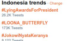 Akun PDIP Cilacap Minta Maaf soal Typo JokowiNyataKeranya