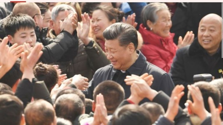 Jutaan Warga China Harus Unduh App Pemikiran Xi Jinping