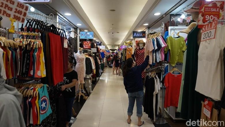 Platinum Fashion Mall di Bangkok, Thailand (Shinta/detikTravel)